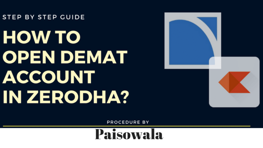 Step by step process for Zerodha A/c open